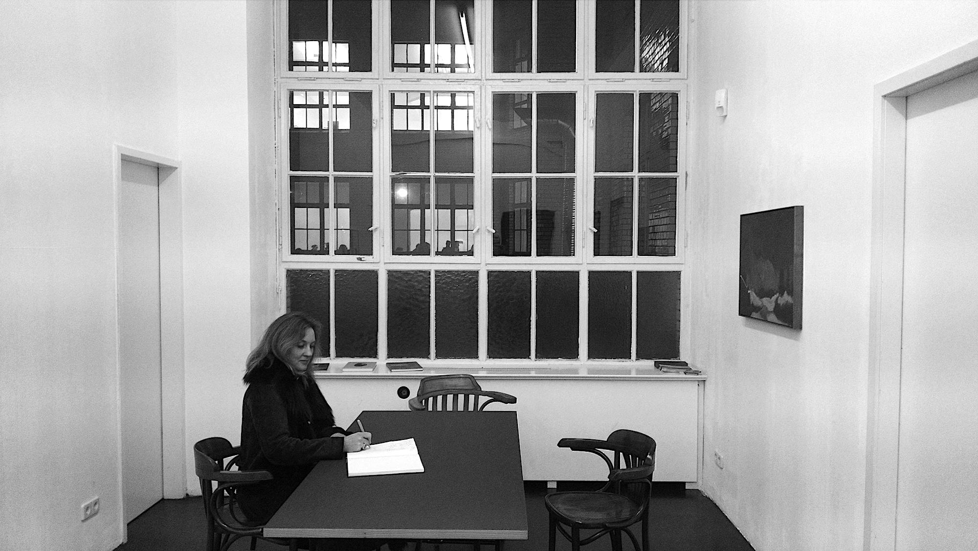Naomi Schenck in der Alexander Levy Gallery, Berlin